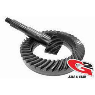 G2 Axle and Gear 2-2012-456 Ring and Pinion Set Ford 9.75 in. 4.56 Ratio OE Ring and Pinion Set ()