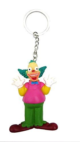 Fox The Simpsons Clown 3D PVC Key Ring