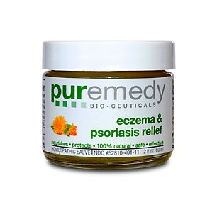 (Puremedy Unscented Eczema and Psoriasis Relief Homeopathic Salve, 2 Ounce)