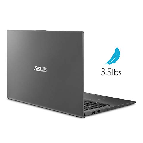 "ASUS VivoBook 15 Thin & Light 15.6"" FHD Laptop, AMD 4 Core R7-3700U CPU,16GB DDR4 RAM, 1024GB PCIE SSD, AMD Radeon Vega 10 Graphics, Fingerprint, Woov Sleeve, Windows 10 Home(Slate Gray)"