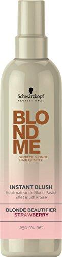 Schwarzkopf Professional BlondMe Instant Blush Blonde Beautifier 250ml Strawberry by SCHWARZKOPF