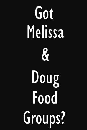 Got Melissa & Doug Food Groups?: Melissa & Doug Food Groups Diary Journal