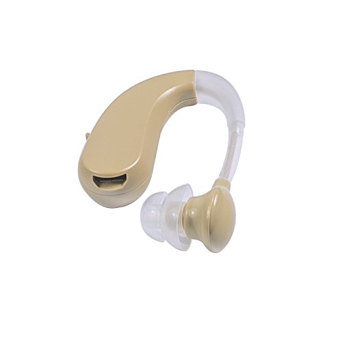 Clearon Rechargable Hearing Amplifier VHP-202S / FDA Approved Digital BTE Small Size. Better Value Than Siemens, NewEar, Phonak, Oticon, Starkey, & Beltone