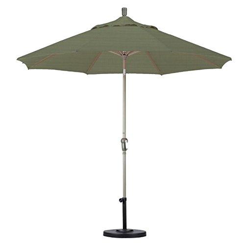 California Umbrella 9' Market Patio Umbrella in Terrace Fern