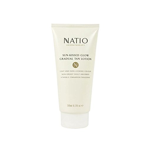 Natio Sun-Kissed Glow Gradual Tan Lotion (200ml) (Pack of 4)