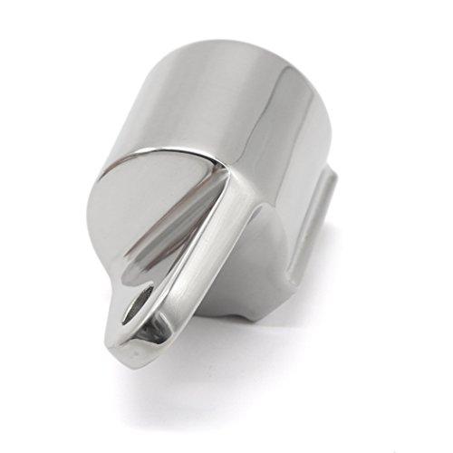 2PCS Bimini Eye End Top Caps Tube Heavy Duty Fitting Hardwares Marine Stainless Steel 1'' by iztor (Image #3)