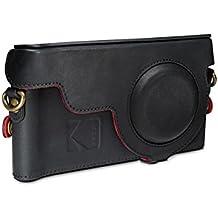 Kodak Ektra Phone Leather Camera Case - Black/Red