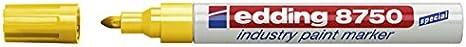Edding e 8750 Marqueur peinture pour les surfaces huileuses ou poussi/éreuses 1 /à 2,5 mm Orange