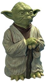 Amazon Star Wars Ceramic Cookie Jar Yoda Full Body
