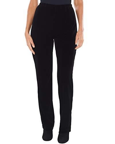 Chico's Women's Travelers Collection Velvet No Tummy Pants Size 12 L (2 REG) ()