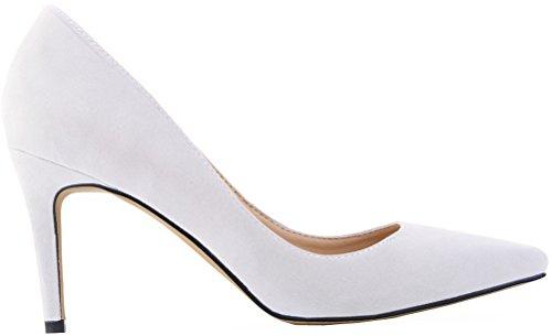5 36 Find Compensées Blanc Femme Blanc Sandales Nice wv6UOqBz