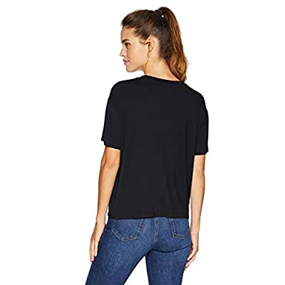 Brand - Daily Ritual Women's Jersey Short-Sleeve Crewneck Boxy Pocket T-Shirt: Clothing