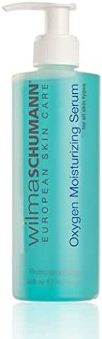 WILMA SCHUMANN Oxygen Moisturizing Serum – Pure Oxygen Boosting Hydrator to help firm and repair Normal, Combination, Oily, and Acne-Prone Skin Types (8 Ounces / 240 Milliliter)