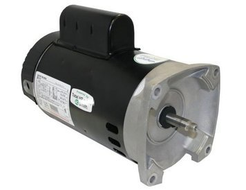 1.5 hp 2-Speed 56Y Frame 230V Square Flange Pool Motor Century # B2983 by Century Electric Motor