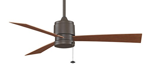 (Fanimation Zonix Wet - 52 inch - Oil-Rubbed Bronze with Cherry Blades and Pull-Chain - FP4640OB)
