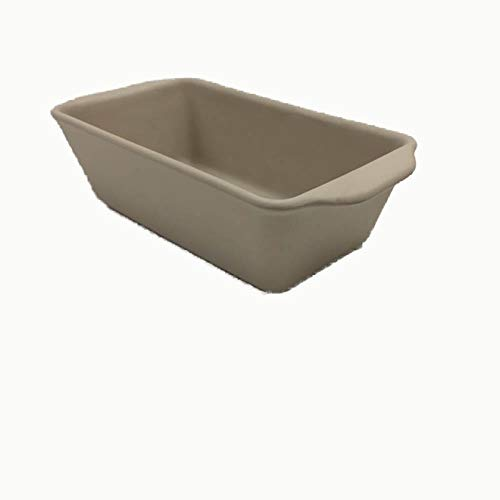 - American Bakeware Loaf Pan (Bisque) - Non Stick Ceramic Stoneware - Heat Resistant to 400 °F - No Metals other Harmful Materials - Safe for Ovens, Microwaves, Dishwasher - Made in the USA