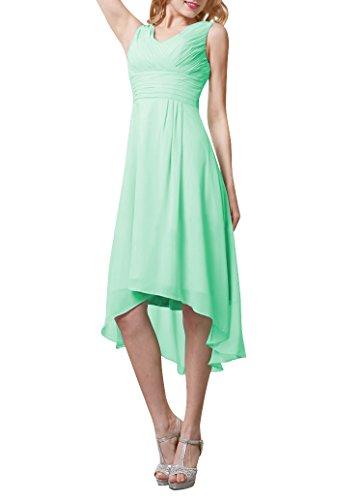 Buy light mint green bridesmaid dresses - 6