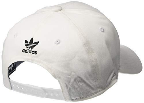 Blanc Adidas noir Trefoil Précurve Structurée Originals ZrwrpqI