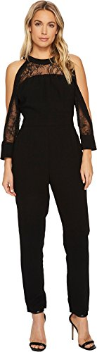 Adelyn Rae Women's Laila Jumpsuit Black Medium by Adelyn Rae