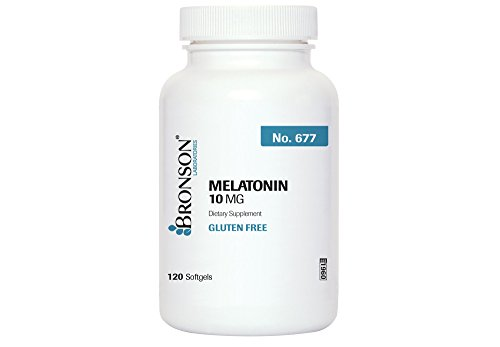 Bronson Melatonin 10 120 Softgels product image