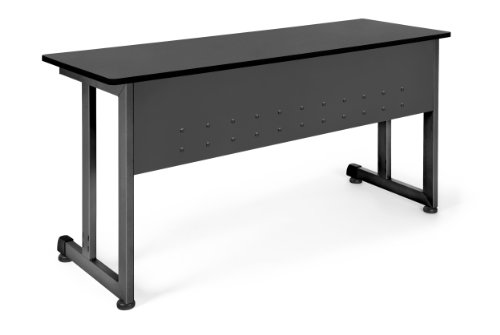 - OFM 55141-GRPH Training Table, 20 by 55-Inch, Graphite