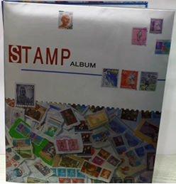 TRENDY STAMP ALBUM, 10 Pages, Size : 30 HX 24 L cm
