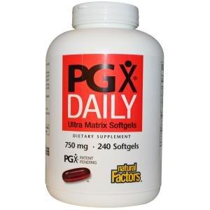 ナチュラルファクターズ(Natural Factors) PGXデイリー 240ソフトカプセル [海外直送][並行輸入品]   B0095D3NAM