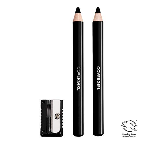 Soft Black Brow Liner - Covergirl Easy Breezy Brow Fill and Define Pencil, Black, 0.06 Ounce
