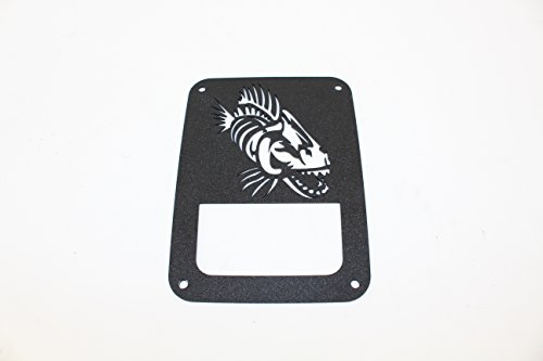 Fishbone Taillight Guard, JK - Fishbone Cover