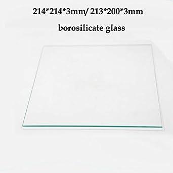 AiCheaX - Piezas de impresora 3D 214 x 214 x 3 mm / 213 x 200 x 3