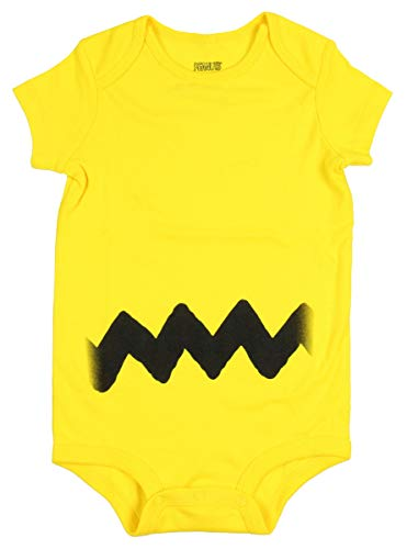 Sally Charlie Brown - Charlie Brown I Am Charlie Baby Romper Bodysuit (6-12 Months)