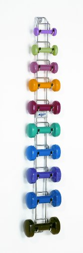 Elgin WR6 Wall Mounted Dumbbell Rack & WR6 Package