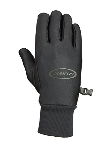(Seirus Innovation Men's Soundtouch All Weather Glove, Black, Large)