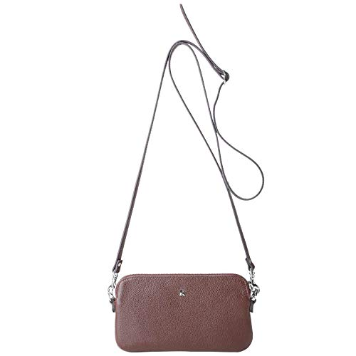 en Country de Marron veau Porté Mr grainé Kesslord CY Cuir Sacs travers Ph018 1qZ8YSwBX