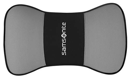 Samsonite SA5249  Travel Pillow for Car, SUV  Helps Relieve Neck Pain & Improve Circulation @% Pure Memory Foam  Fits Most Vehicles by Samsonite (Image #2)