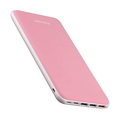 [Upgraded] 26800mAh USB PD Portable Charger QC 3.0 Quick Charge Power Bank External Battery Nintendo Switch/iPhone Xs/XS Max/X 8, MacBook/Type C MacBook Pro USB Power Delivery Support (Pink)