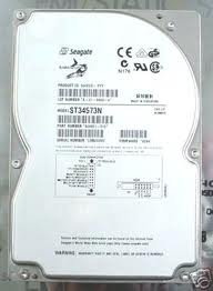 Seagate ST34573N Barracuda 4GB 7200 RPM 50-pin Ultra SCSI Hard Drive. , (Refurbished Scsi)