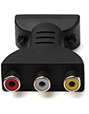 MeterMall AV Digital Signal HDMI to 3 RCA Audio Adapter Component Converter