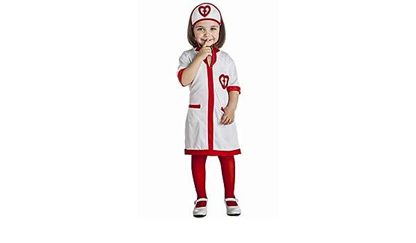 Disfraz de Enfermera Corazones para niña: Amazon.es: Juguetes y juegos
