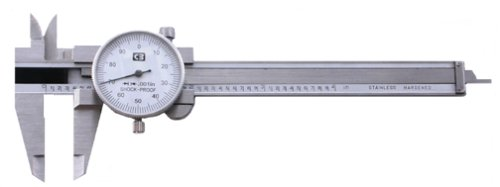 Chicago Brand 50008 4-Inch Pocket Dial Caliper .001-Inch Graduation