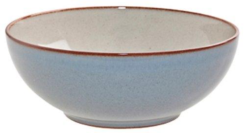 Denby Heritage Soup/Cereal Bowl, Terrace Grey, Set of 4
