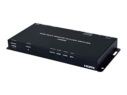 - A-NeuVideo ANI-2PIP-LOGO 2x1 HDMI Dynamic Multiviewer PiP/PoP with Logo Inserter