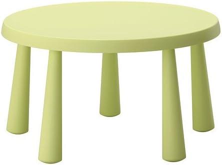 IKEA MAMMUT - Mesa para niños, verde claro £ 27 - 85 cm: Amazon ...