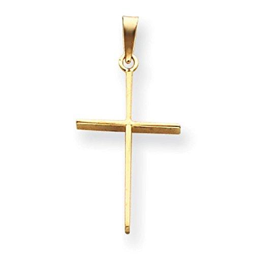 Pendentif Croix Or 14carats-Dimensions 20x 20x 14mm