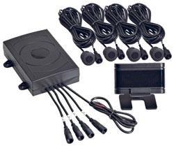 spal parking sensor kit with display and 4. Black Bedroom Furniture Sets. Home Design Ideas