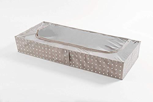Compactor Rivoli - Funda bajo cama, 107 x 46 x A 16 cm, color beige