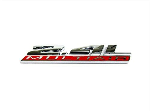 Mopar 14-15 Dodge Dart 2.4L MULTIAIR CHROME EMBLEM BADGE FOR TRUNK LID OEM NEW