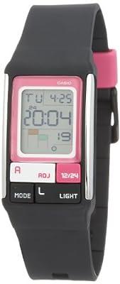 Casio LDF-52-1A Ladies Black Poptone Digital Watch