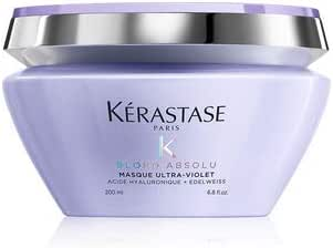 Hair Styling: Kérastase Blond Absolu Anti-Brass Purple Mask