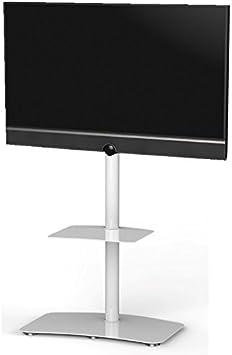 RO&CO - Peana de TV con Estante. Alto: 110 cms. Blanco. Ref. P ...